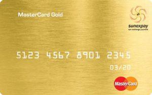 مستر کارت دارای پنل بانکی
