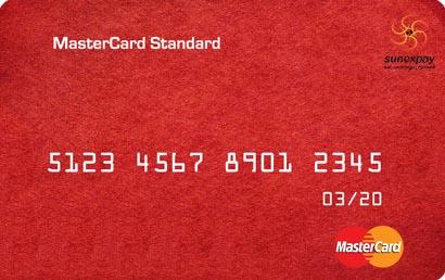 خرید مستر کارت استاندارد